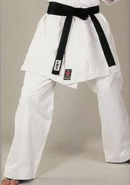 Kumite Karate Pants, 12 oz, white, sizes: 150 cm - 190 cm