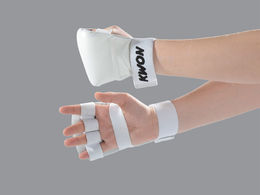 KWON Competition Hand protector, leather, flat model, sizes: S-XL