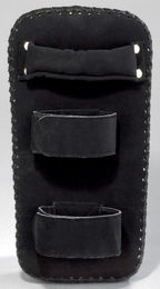 KWON Dark Line Arm Shield, leatherette, black, size: 37 x 18,5 x 7cm