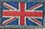 Badge Great Britain small flag, size 5 cm x 3 cm