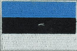 Badge Eesti small flag, size 5 cm x 3 cm