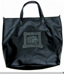 KWON Design Bag, leatherette, black, size: 60 x 50 x 20cm
