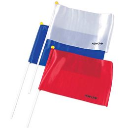 KWON Judge's Point Flag, red, blue and white