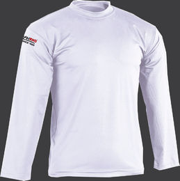 long sleeve, white