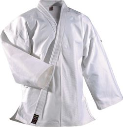 Dan Rho Ju Jutsu/Karate Uniform Shogun Plus, white, 14 oz, sizes 150 cm - 200 cm