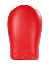 KWON Realistic Face Focus mitt, red, size: 30 cm x 18 cm