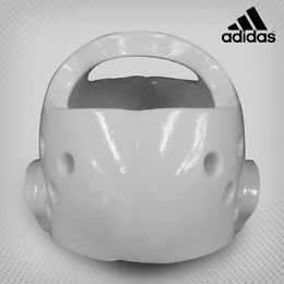 Adidas WTF-Approved Taekwondo Head Guard White sizes S - L
