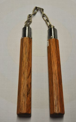 "Nunchaku 8 "", wood, Octagon 8-corner, B.B. bearing, natural"