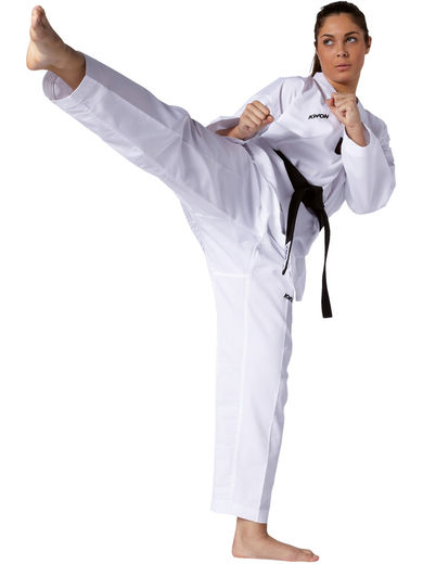 KWON Victory Taekwondo uniform, white lapel