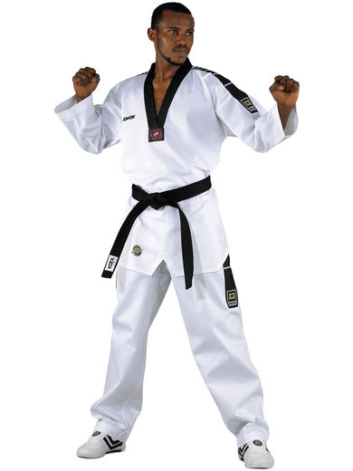 Grand Victory taekwondo suit, with embroidery Taekwondo, WTF approved, sizes 160 cm - 200 cm