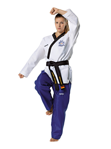 Taekwon-Do uniform KWON POOMSAE for women, 150 cm - 190 cm