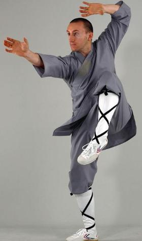 Shaolin uniform, grey, sizes: S-XL