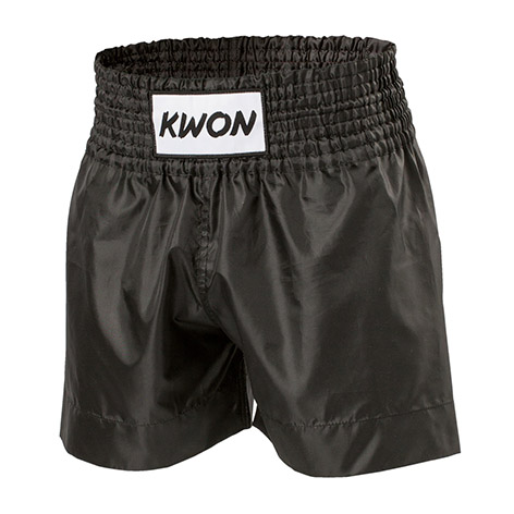 KWON Thai Boxing shorts, black, sizes: XS - XL