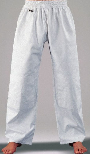 KWON Judo/Ju-Jutsu pants, knee reinforcement, white, sizes: 120 cm - 210 cm
