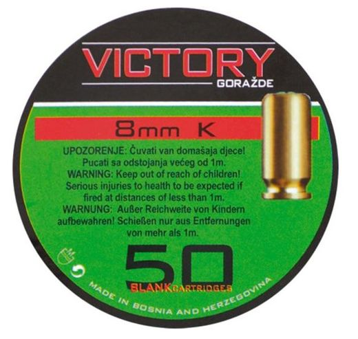 Victory Signalpatron 8 mm (50 pcs), (black powder)