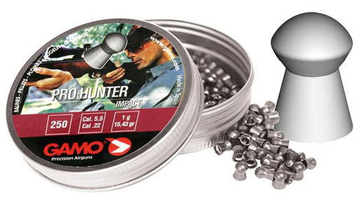 Gamo pullet Pro Hunter 5,5mm/250pcs weight 1,0g