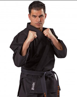 Self-defense jacket, black, 12 oz, very strong