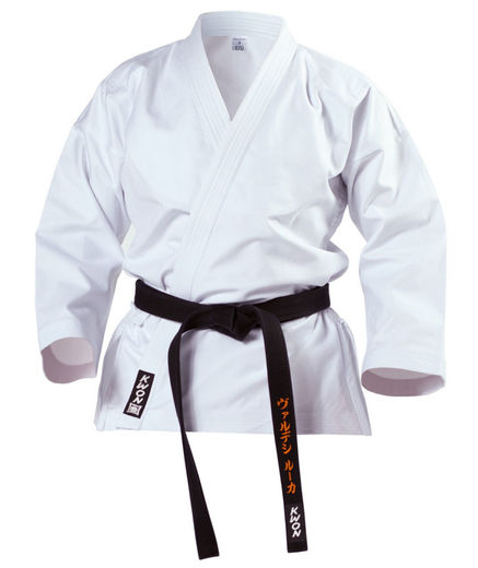 KWON Self-defense jacket, white, 12 oz, very strong, sizes 160 - 190 cm
