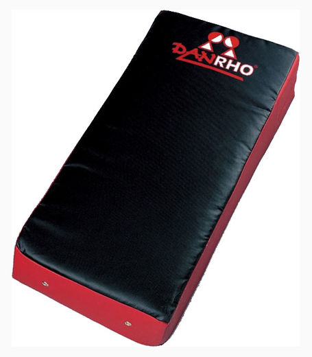 Dan Rho Strike Shield, black/red, size: 75 x 35 x 15