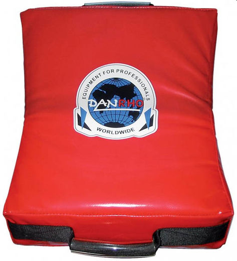 Dan Rho DSK Small Strike shield, red, size: 47 x 35 x 10cm