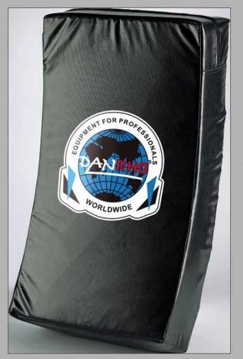 Dan Rho Curved Body Shield DSK, black, size: 66 x 38 x 12,5cm