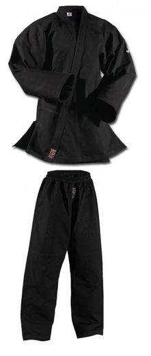 Ju-Jutsu uniform Shogun Plus, black, 12 oz, sizes: 150 cm - 210 cm