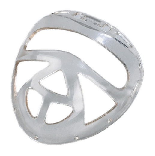 KWON Face Mask with eye holes, transparent, ONE SIZE
