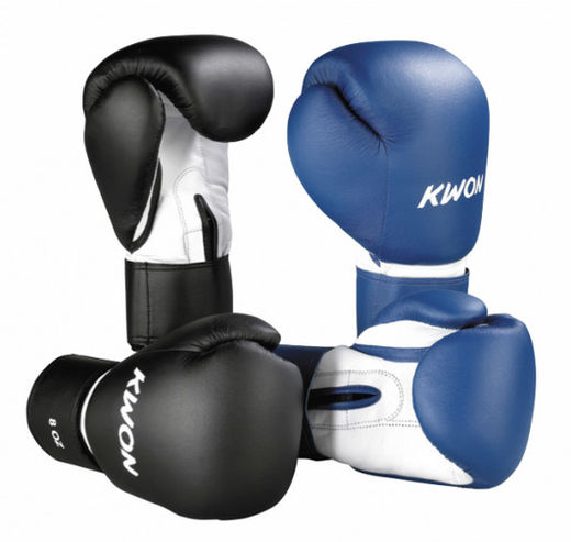 KWON Fitness Boxing gloves, leatherette, 8-16 oz