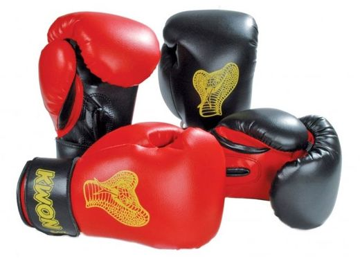 KWON Cobra Boxing Gloves, leatherette, 2 options, 6 oz