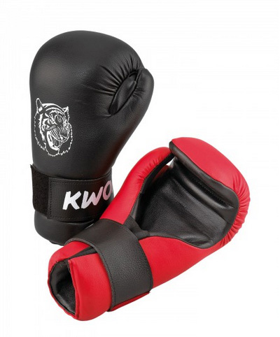 KWON Junior Anatomic Tiger ITF/Kick-Boxing Gloves