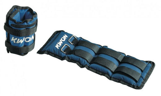 KWON Wrist and ankle weights, nailon, strap attachment, weights: 0,5 kg - 2,5 kg