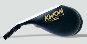 KWON Jumbo Double Floppy kick pad, black, length: 46 cm
