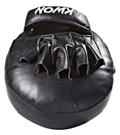 KWON Oval Focus mitt, real leather, size: 20 x 20 x 9cm