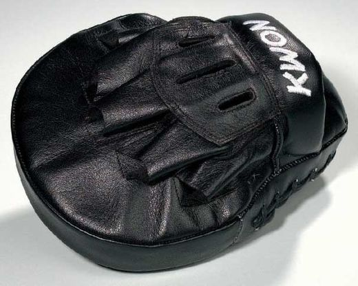 KWON Focus mitt, real leather, black, size: 31 x 18 x 6cm