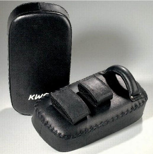 KWON Arm Shield, leather, black, size: 39,5 x 20 x 10cm