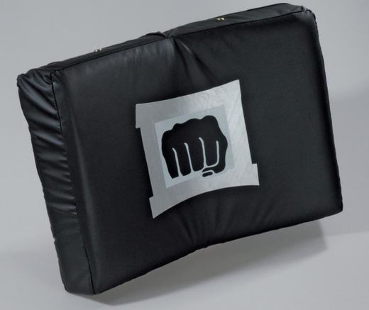 KWON Curved Bodyshield, black, size: 56 x 36 x 10cm