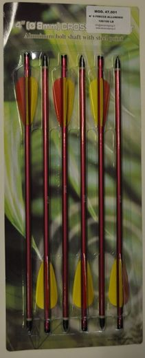 Crossbow arrows  size 14 '' (35 cm) 120/150 lb