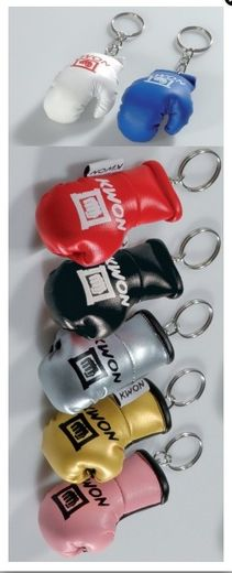 Keyring Mini Boxing Gloves, leatherette