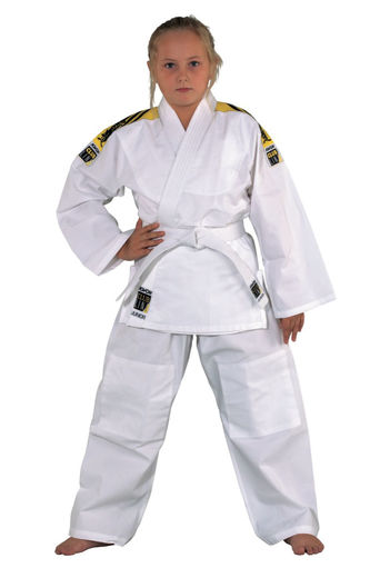 Clubline JUNIOR Judo uniform with shoulder stripes