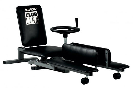KWON Club Line Mechanical Leg stretcher, black