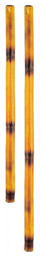 KWON Kali stick, bamboo, black burn pattern, 59 cm & 71 cm