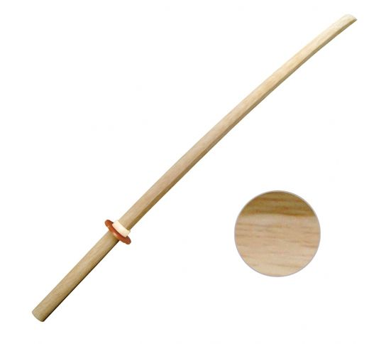 Bokken Oak, white, 102 cm HQ-quality