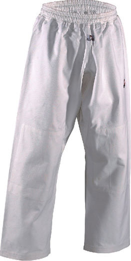Dan Rho Ju Jutsu Pants Shogun Plus, white, sizes 150-210 cm