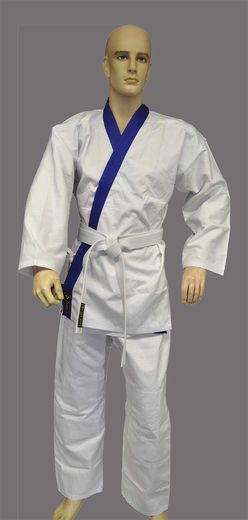 Nuke Han Moo Do uniform blue-white 130 cm - 190 cm