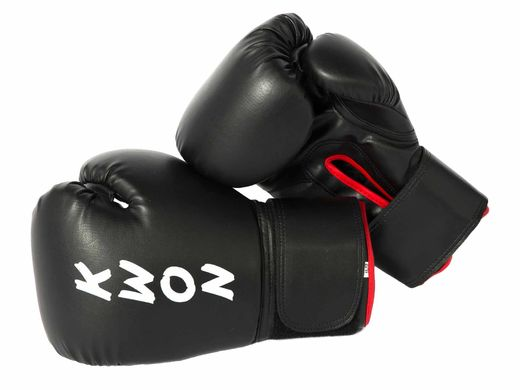 KWON Boxing gloves Stekos Fight Night 10 - 16 oz, black