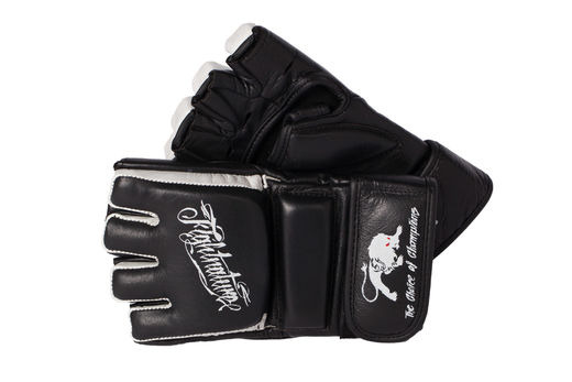 Fightnature MMA Hybrid Glove, Leather, M-XL