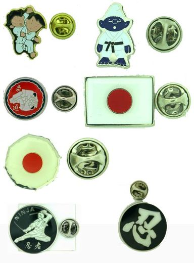 Pins Judo/Ninjutsu, multiple choises