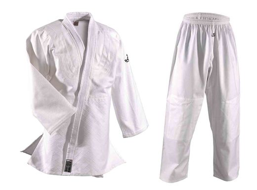 Dan Rho Judo Uniform (gi) Randori 500g/m2 white sizes 120 cm - 200 cm
