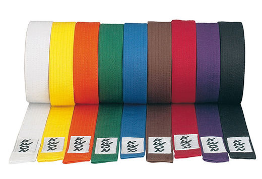 KWON Deluxe Budo Belts, sizes: 200 cm - 320 cm