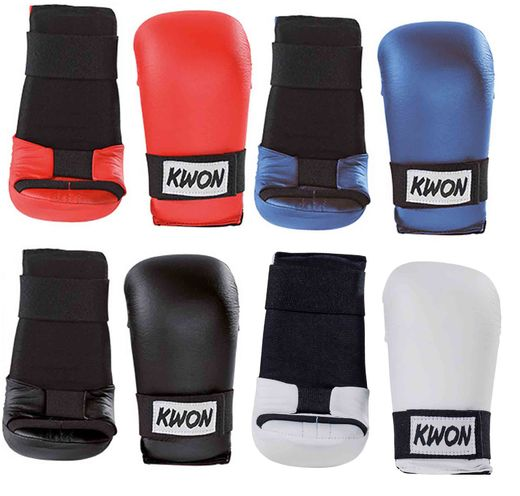 KWON Ladro Karate Hand protector, vinyl, sizes: XS-XL